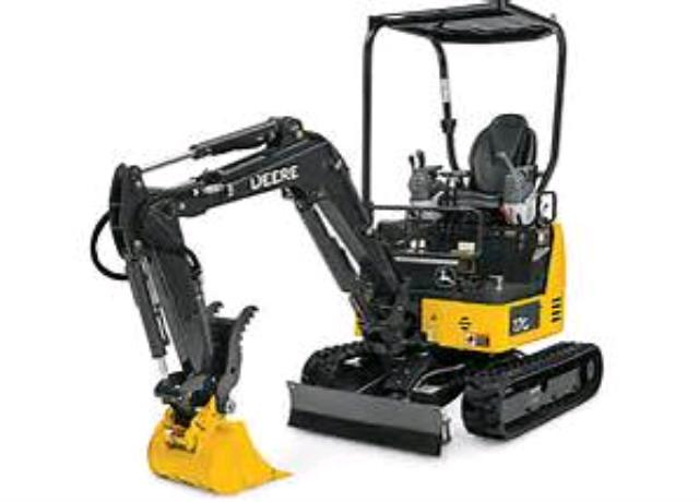 Where to find Excavator, Mini 4000lb JD 17G in Nashville